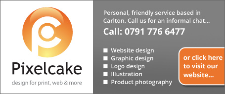 Pixelcake web design / graphic design, selby